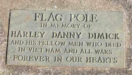 DIMICK, HARLEY DANNY - Linn County, Oregon | HARLEY DANNY DIMICK - Oregon Gravestone Photos