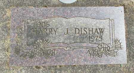 DISHAW, HARRY J - Linn County, Oregon | HARRY J DISHAW - Oregon Gravestone Photos