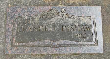 DISHAW, LEANOR L - Linn County, Oregon   LEANOR L DISHAW - Oregon Gravestone Photos