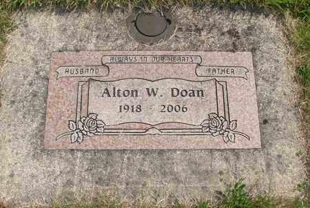 DOAN, ALTON WOODROW - Linn County, Oregon | ALTON WOODROW DOAN - Oregon Gravestone Photos