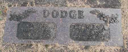 DODGE, CHARLES A - Linn County, Oregon | CHARLES A DODGE - Oregon Gravestone Photos