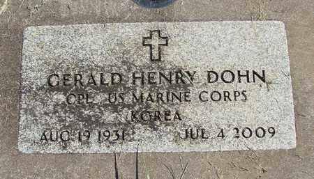 DOHN, GERALD HENRY - Linn County, Oregon   GERALD HENRY DOHN - Oregon Gravestone Photos