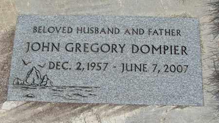 DOMPIER, JOHN GREGORY - Linn County, Oregon | JOHN GREGORY DOMPIER - Oregon Gravestone Photos