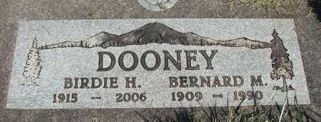 DOONEY, BERNARD MICHAEL - Linn County, Oregon | BERNARD MICHAEL DOONEY - Oregon Gravestone Photos