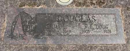 DOUGLAS, ROYAL E - Linn County, Oregon | ROYAL E DOUGLAS - Oregon Gravestone Photos
