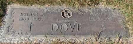 DOVE, JAMES B - Linn County, Oregon | JAMES B DOVE - Oregon Gravestone Photos