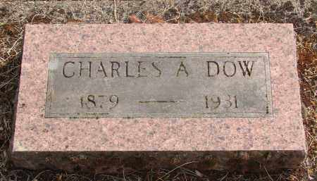 DOW, CHARLES AUSTIN - Linn County, Oregon   CHARLES AUSTIN DOW - Oregon Gravestone Photos