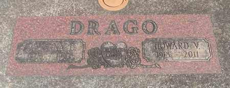 DRAGO, HOWARD VINCENT - Linn County, Oregon | HOWARD VINCENT DRAGO - Oregon Gravestone Photos