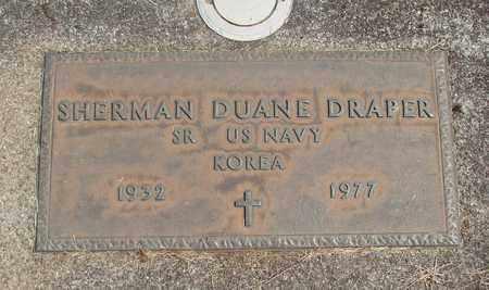 DRAPER, SHERMAN DUANE - Linn County, Oregon   SHERMAN DUANE DRAPER - Oregon Gravestone Photos