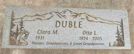 DUBLE, CLARA MAE - Linn County, Oregon | CLARA MAE DUBLE - Oregon Gravestone Photos