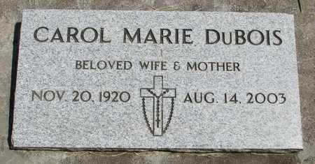 DUBOIS, CAROL MARIE - Linn County, Oregon | CAROL MARIE DUBOIS - Oregon Gravestone Photos