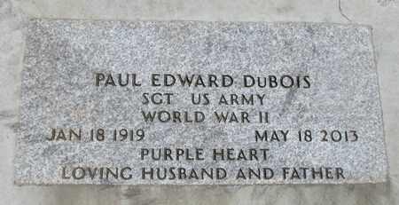 DUBOIS, PAUL EDWARD - Linn County, Oregon | PAUL EDWARD DUBOIS - Oregon Gravestone Photos