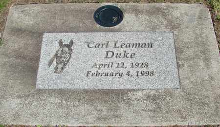 DUKE, CARL LEAMAN - Linn County, Oregon | CARL LEAMAN DUKE - Oregon Gravestone Photos