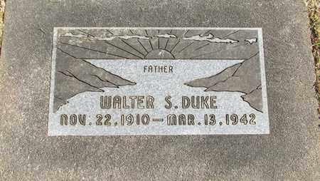 DUKE, WALTER S - Linn County, Oregon | WALTER S DUKE - Oregon Gravestone Photos