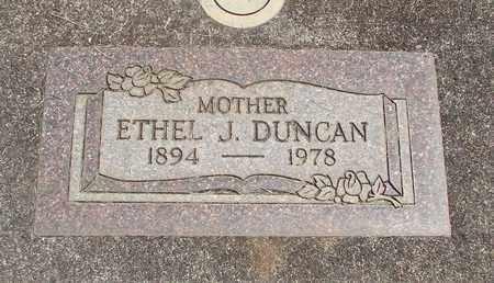 DUNCAN, ETHEL J - Linn County, Oregon | ETHEL J DUNCAN - Oregon Gravestone Photos