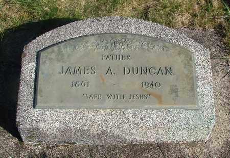 DUNCAN, JAMES ADDINGTON - Linn County, Oregon | JAMES ADDINGTON DUNCAN - Oregon Gravestone Photos
