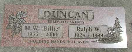 DUNCAN, MARGARET W - Linn County, Oregon | MARGARET W DUNCAN - Oregon Gravestone Photos