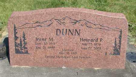 NYBERG DUNN, IRENE M - Linn County, Oregon   IRENE M NYBERG DUNN - Oregon Gravestone Photos