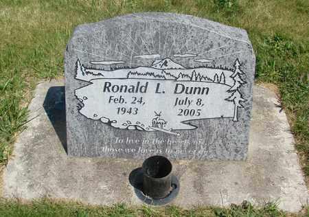 DUNN, RONALD L - Linn County, Oregon | RONALD L DUNN - Oregon Gravestone Photos