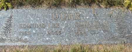 DURR, EDMUND LEE - Linn County, Oregon   EDMUND LEE DURR - Oregon Gravestone Photos