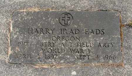 EADS, HARRY IRAD - Linn County, Oregon | HARRY IRAD EADS - Oregon Gravestone Photos