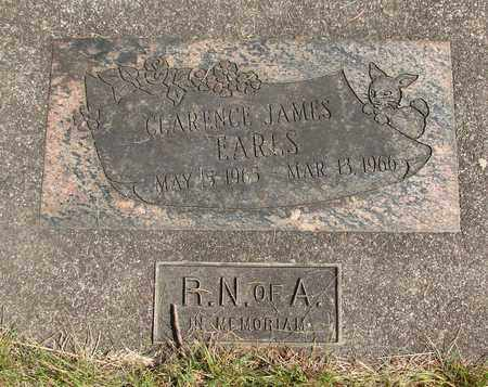EARLS, CLARENCE JAMES - Linn County, Oregon | CLARENCE JAMES EARLS - Oregon Gravestone Photos