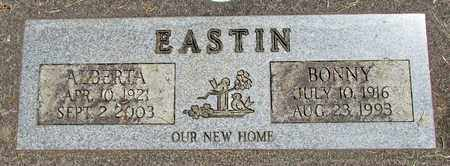 EASTIN, BONNY W - Linn County, Oregon | BONNY W EASTIN - Oregon Gravestone Photos