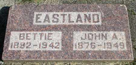 EASTLAND, BETTIE ELIZABETH - Linn County, Oregon | BETTIE ELIZABETH EASTLAND - Oregon Gravestone Photos
