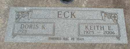 KRETSCHMER ECK, DORIS - Linn County, Oregon   DORIS KRETSCHMER ECK - Oregon Gravestone Photos