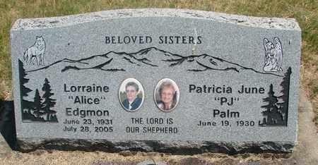 PORTER EDGMON, LORRAINE ALICE - Linn County, Oregon   LORRAINE ALICE PORTER EDGMON - Oregon Gravestone Photos