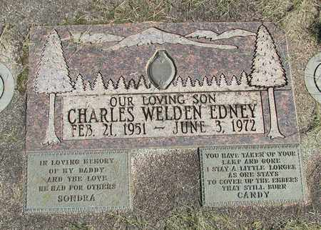 EDNEY, CHARLES WELDO - Linn County, Oregon | CHARLES WELDO EDNEY - Oregon Gravestone Photos