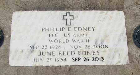 EDNEY, PHILLIP E - Linn County, Oregon   PHILLIP E EDNEY - Oregon Gravestone Photos