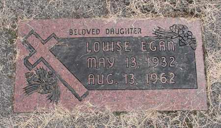 EGAN, LOUISE - Linn County, Oregon | LOUISE EGAN - Oregon Gravestone Photos
