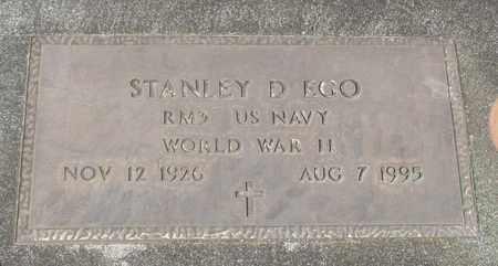 EGO, STANLEY DUANE - Linn County, Oregon | STANLEY DUANE EGO - Oregon Gravestone Photos