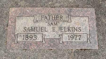 ELKINS, SAMUEL E - Linn County, Oregon | SAMUEL E ELKINS - Oregon Gravestone Photos