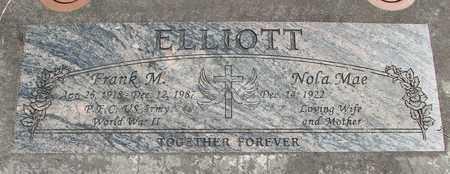 ELLIOTT, NOLA MAE - Linn County, Oregon | NOLA MAE ELLIOTT - Oregon Gravestone Photos
