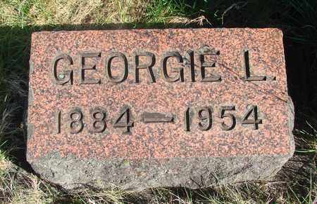 ELLIS, GEORGIE L - Linn County, Oregon   GEORGIE L ELLIS - Oregon Gravestone Photos