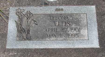 ELLIS, LEEONA EMMA - Linn County, Oregon | LEEONA EMMA ELLIS - Oregon Gravestone Photos