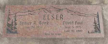 ELSER, DAVID PAUL - Linn County, Oregon | DAVID PAUL ELSER - Oregon Gravestone Photos