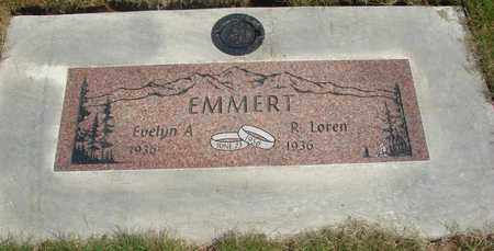 EMMERT, R LOREN - Linn County, Oregon | R LOREN EMMERT - Oregon Gravestone Photos