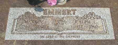 CASEBEER EMMERT, MARY V - Linn County, Oregon   MARY V CASEBEER EMMERT - Oregon Gravestone Photos