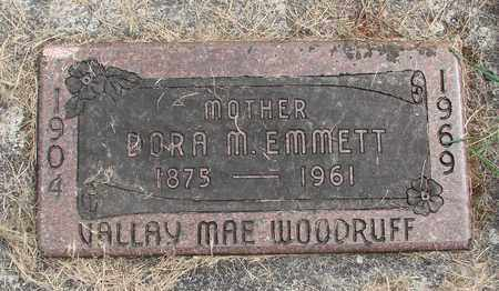 WOODRUFF, VALLAY MAE - Linn County, Oregon | VALLAY MAE WOODRUFF - Oregon Gravestone Photos