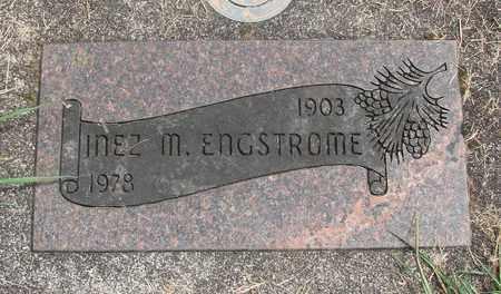 ENGSTOME, INEZ M - Linn County, Oregon | INEZ M ENGSTOME - Oregon Gravestone Photos