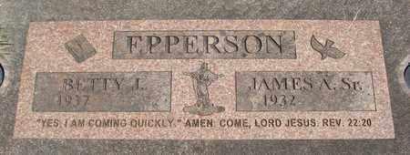 EPPERSON, JAMES A SR - Linn County, Oregon   JAMES A SR EPPERSON - Oregon Gravestone Photos