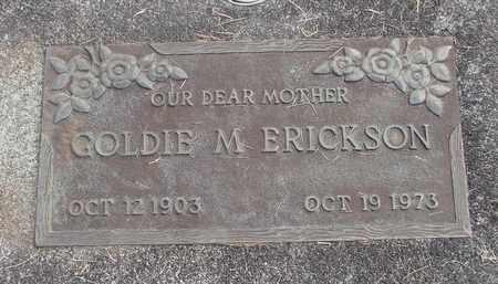 ERICKSON, GOLDIE M - Linn County, Oregon | GOLDIE M ERICKSON - Oregon Gravestone Photos