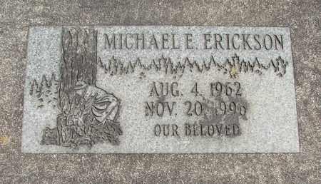 ERICKSON, MICHAEL EDWARD - Linn County, Oregon   MICHAEL EDWARD ERICKSON - Oregon Gravestone Photos