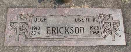 ERICKSON, OLGA HANSINA - Linn County, Oregon | OLGA HANSINA ERICKSON - Oregon Gravestone Photos