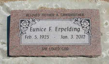 ACKLEY ERPELDING, EUNICE FAYE - Linn County, Oregon   EUNICE FAYE ACKLEY ERPELDING - Oregon Gravestone Photos