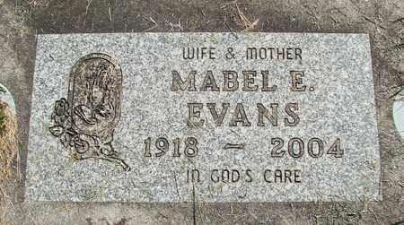 EVANS, MABEL E - Linn County, Oregon | MABEL E EVANS - Oregon Gravestone Photos