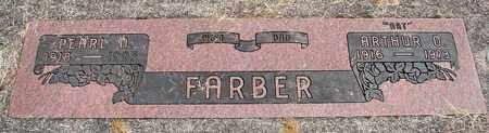 FARBER, PEARL N - Linn County, Oregon   PEARL N FARBER - Oregon Gravestone Photos